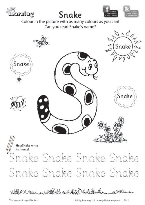 Colouring Worksheets « « Jolly Learning Jolly Learning | FONO ...