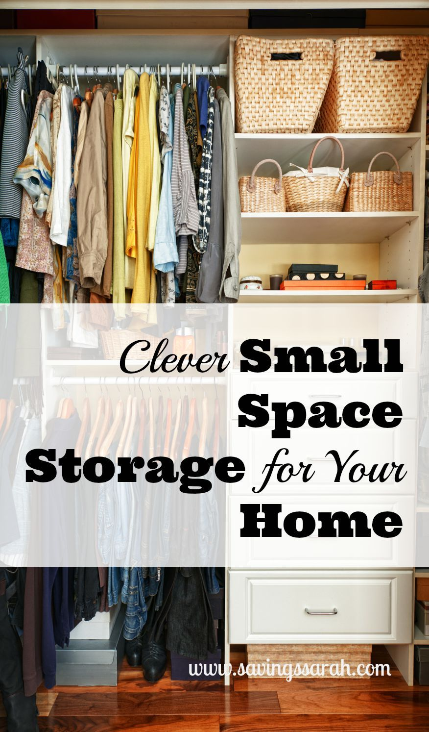 Clever Small Space Storage In Your Home Storage Ideas Pinterest