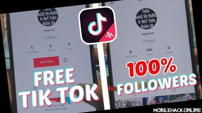 get followers on tik tok free