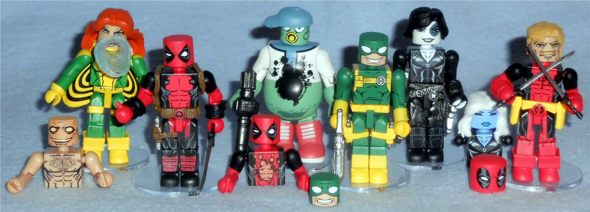 Marvel Minimates série 65 Messiah Complex Câble