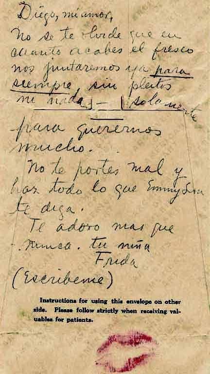 Revista De Artes Cartas De Frida Kahlo A Diego Rivera Frida Kahlo Y Diego Frida Kahlo Cartas De Frida Kahlo