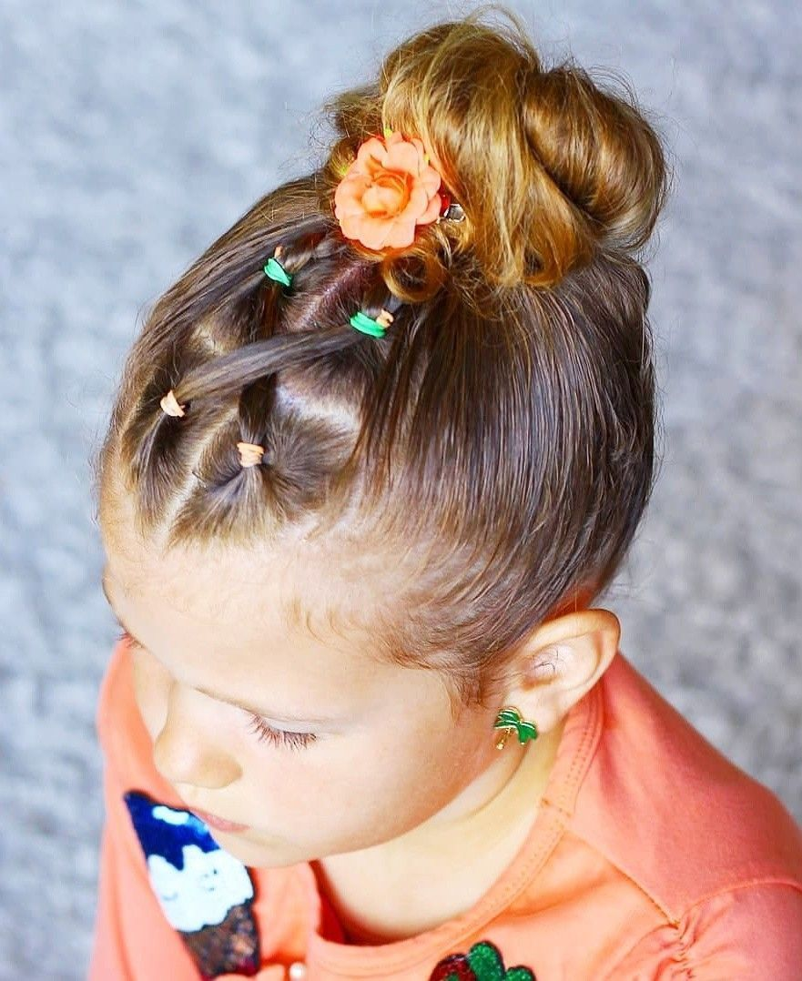 36 Curtidas 6 Comentrios Hairstyles For Little Girls T