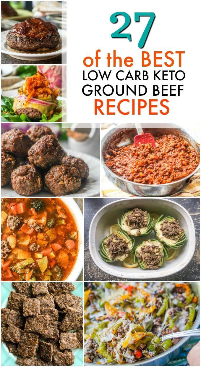 27 of the Best Low Carb Keto Ground Beef Recipes! images