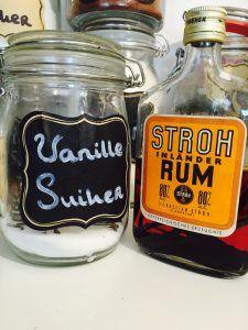 Vanille extract en vanille suiker home made