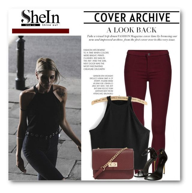 """""""Shein top"""" by erminm ❤ liked on Polyvore featuring Forever 21, women's clothing, women's fashion, women, female, woman, misses and juniors"""
