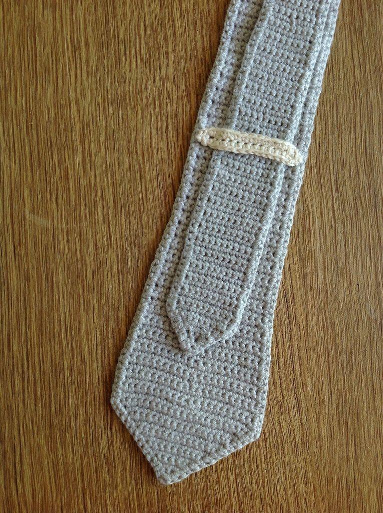 Suvi\'s Crochet: Skinny Tie Tutorial ✿⊱╮Teresa Restegui http://www ...