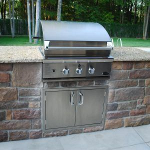 Superb Outdoor Kitchen Grill Cabinets
