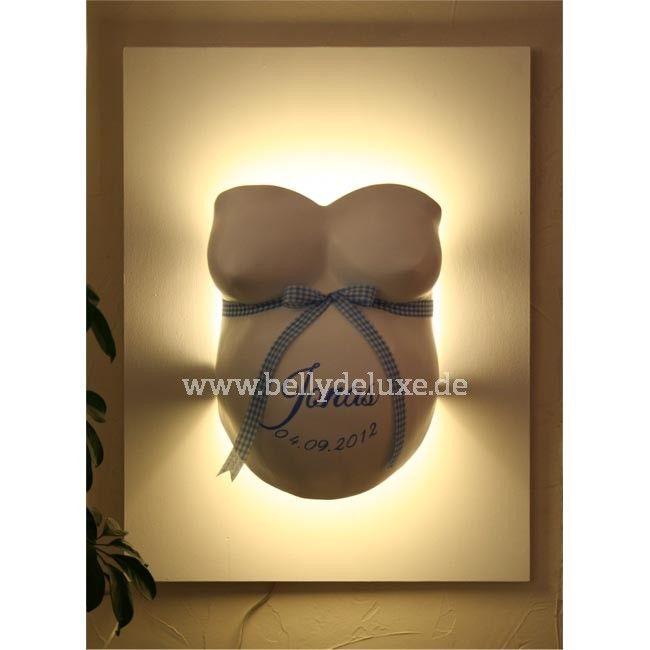 gipsabdruck mit indirekter beleuchtung bausatz baby pinterest baby gips und gipsabdruck. Black Bedroom Furniture Sets. Home Design Ideas