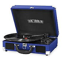 Victrola 3-Speed Bluetooth Portable Suitcase Record Player