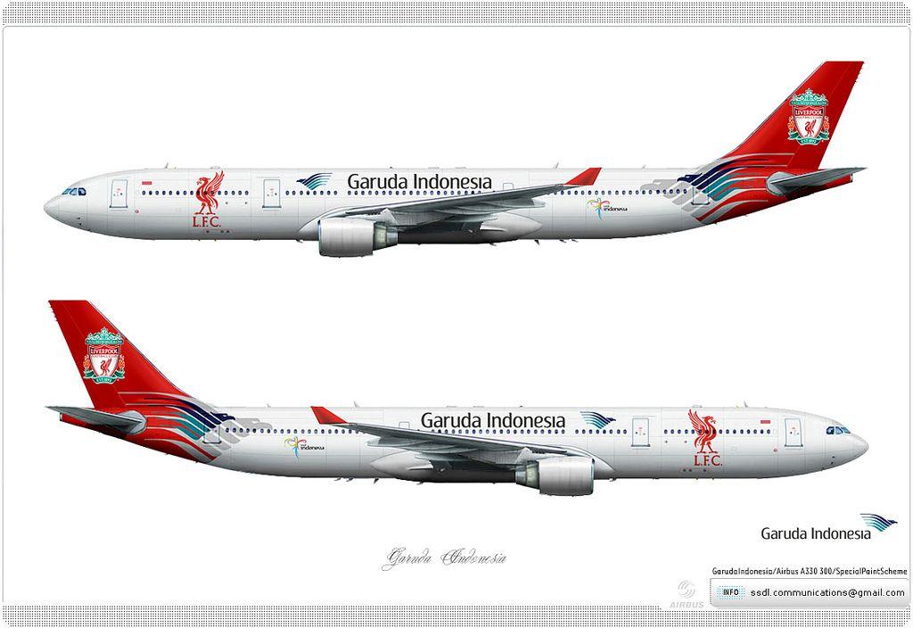 https://flic.kr/p/e8ofqd | Garuda Indonesia Livery concept | Garuda Indonesia / Airbus A330 300 / Special Paint Scheme / Livery concept