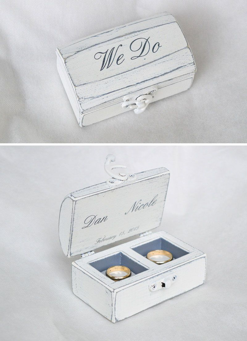 Wedding Ring Boxes 17 Gorgeous Designs Youll Cherish Forever