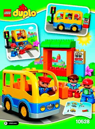 School Bus 10528 Lego Duplo Town Building Instructions Lego