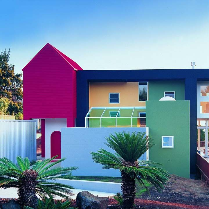 Postmodernism Amp Design Architecture House Paint