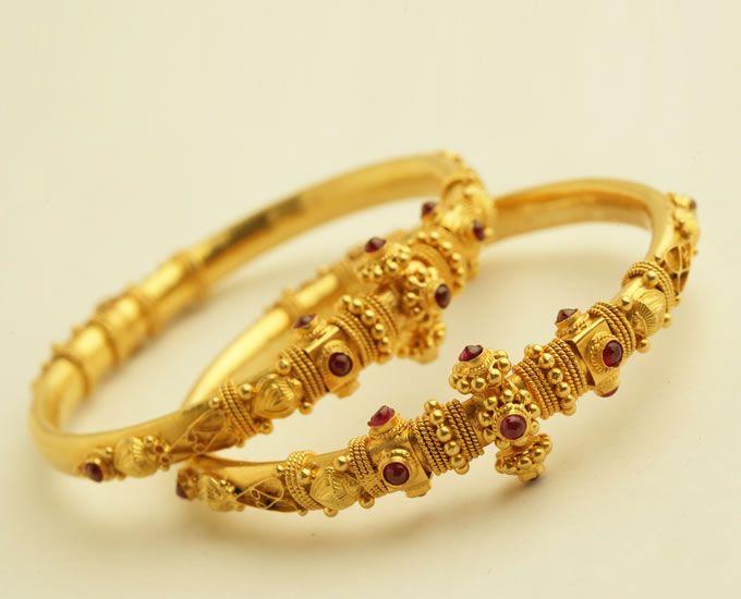 Latest Gold Kada Designs