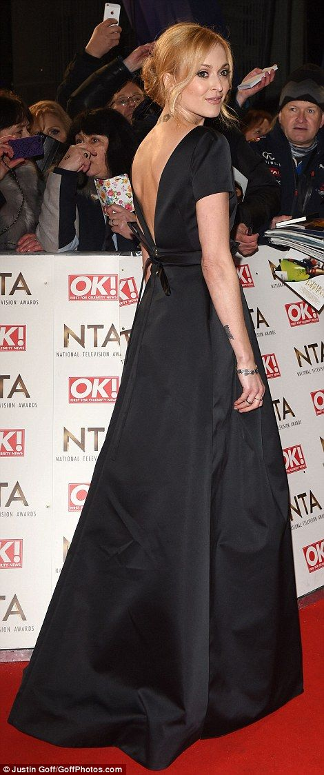 Megan Mckenna Opts For Senorita Chic In Bold Red Two Piece At Ntas Formal Dresses Long Fashion Blue Gown
