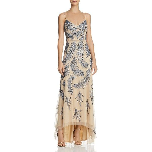 Aidan Mattox Sequin-Embellished Gown ($475) ❤ liked on Polyvore ...