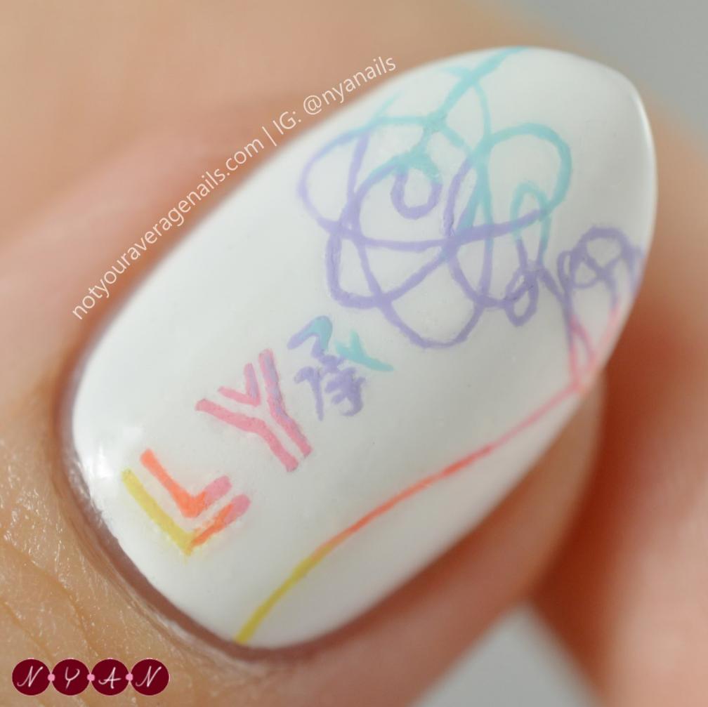 BTS #DNA #LoveYourself Nail Art | Nails | Pinterest | BTS, Manicure ...