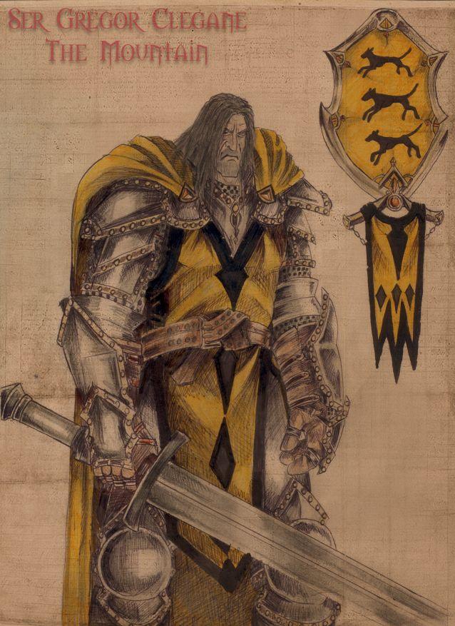game of thrones gregor clegane vs sandor