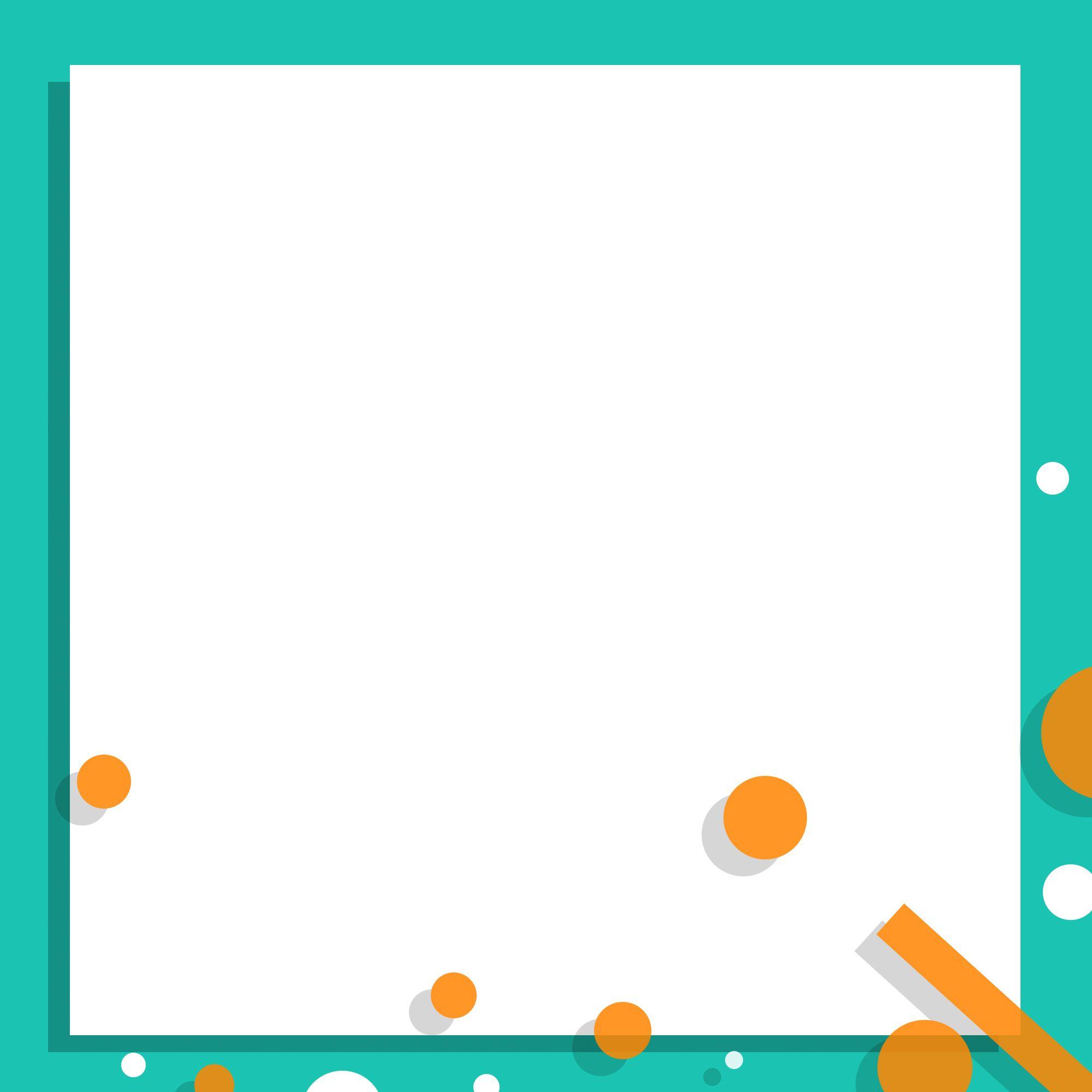 خلفية إعلانية هندسية بسيطة Geometric Cards Symbols