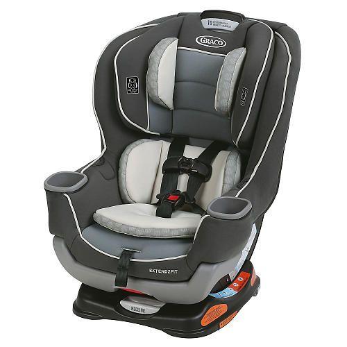 Graco Extend2Fit Convertible Car Seat - Davis - Graco - Babies \