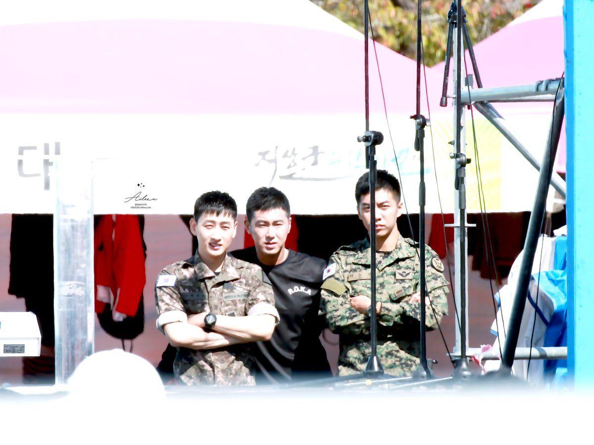 Eunhyuk, Yunho, Lee Seung Gi
