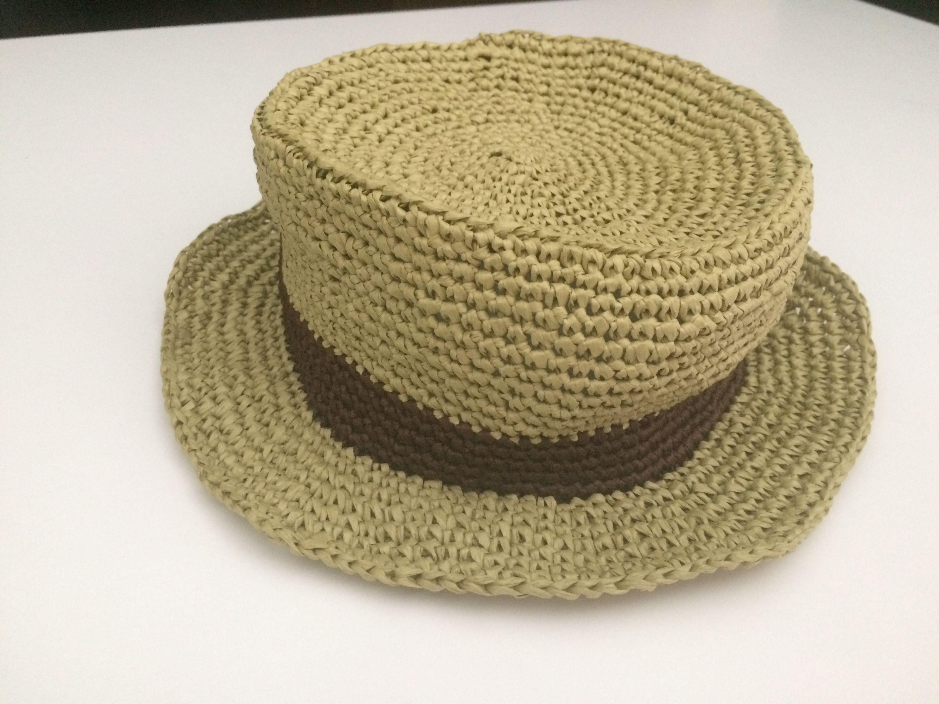 手編兒童草帽