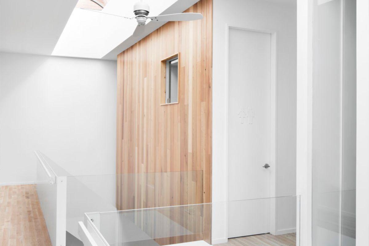 Minimalistische woning overloop huis pieter pinterest