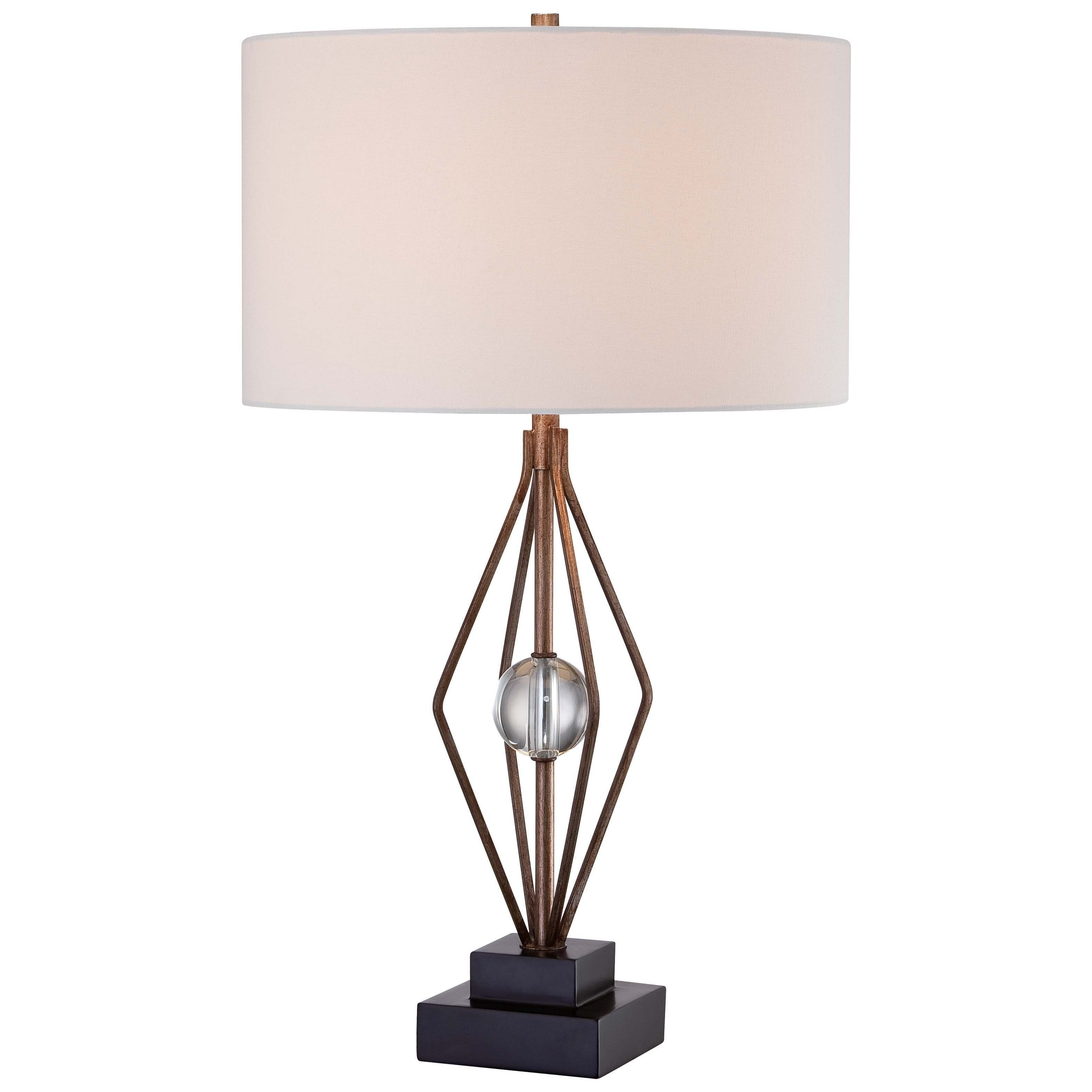 Minka lavery 1 light table lamp grey steel minka grey light minka lavery 1 light table lamp grey steel mozeypictures Image collections