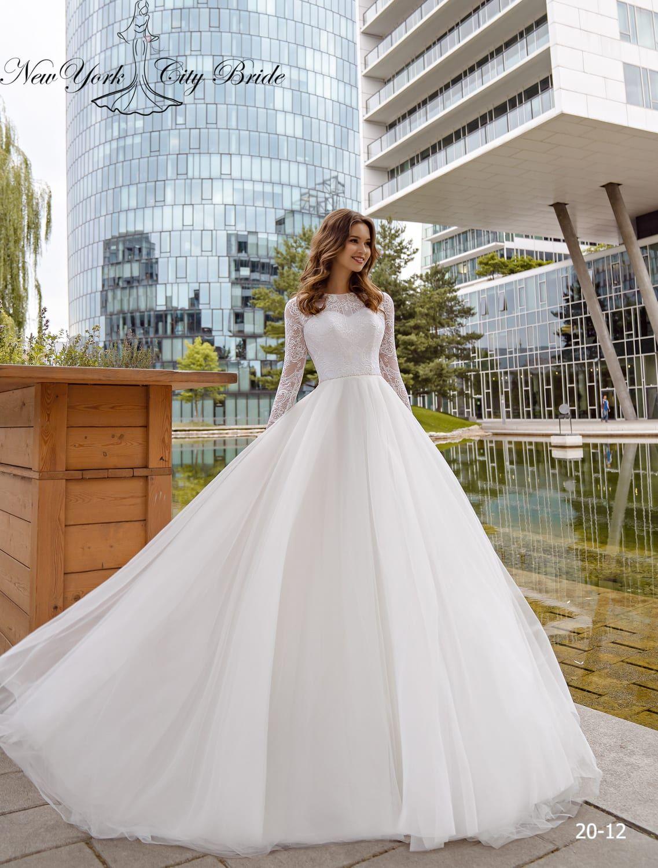 20 12 2 In 2020 Wedding Dress Necklines Wedding Dress Long Sleeve Cathedral Wedding Dress