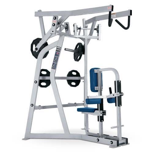 Iso Lateral High Row Used As Hammer Strength Sports Equipment With Nice Pu Leather In 2020 Gym Accessories Gym Machines Strength Training Equipment