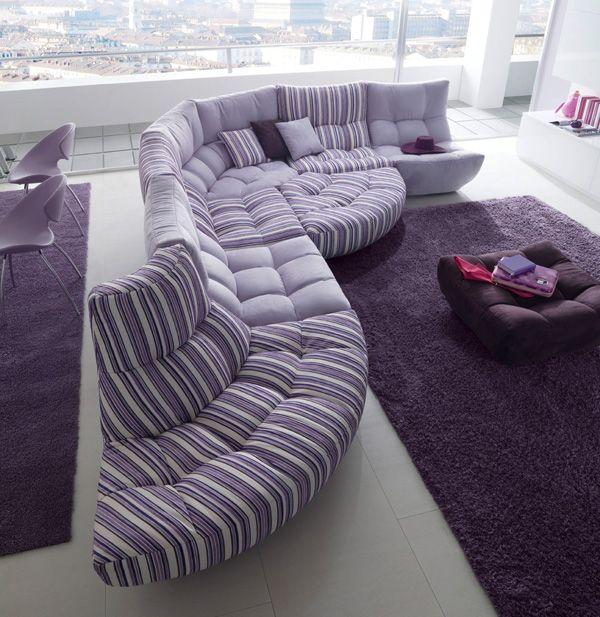 Divani Relax Chateau D Ax.Chateau D Ax Silhouette Love Purple Furniture Purple Home