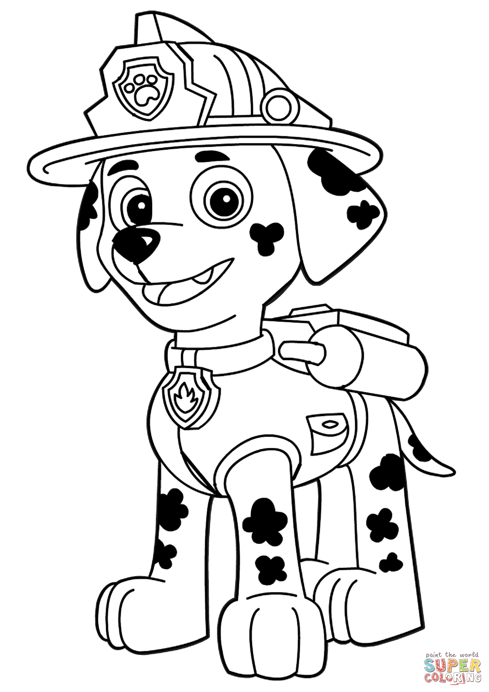 Paw Patrol Tracker Ausmalbilder : Image Result For Paw Patrol Clip Art Black And White Clipart For