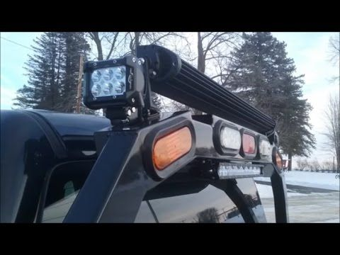 Project Midnight Mictuning 18w Led Pods And 100w Mini Light Bar Instal Mini Light Bar Bar Lighting Installation