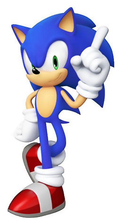 Sonic The Hedgehog S Pose Sonic Sonic Generations Sonic Birthday Parties