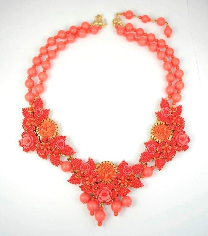 stanley hagler vintage jewelry | Vintage Stanley Hagler Ian St Gielar Necklace | Vintage Jewelry