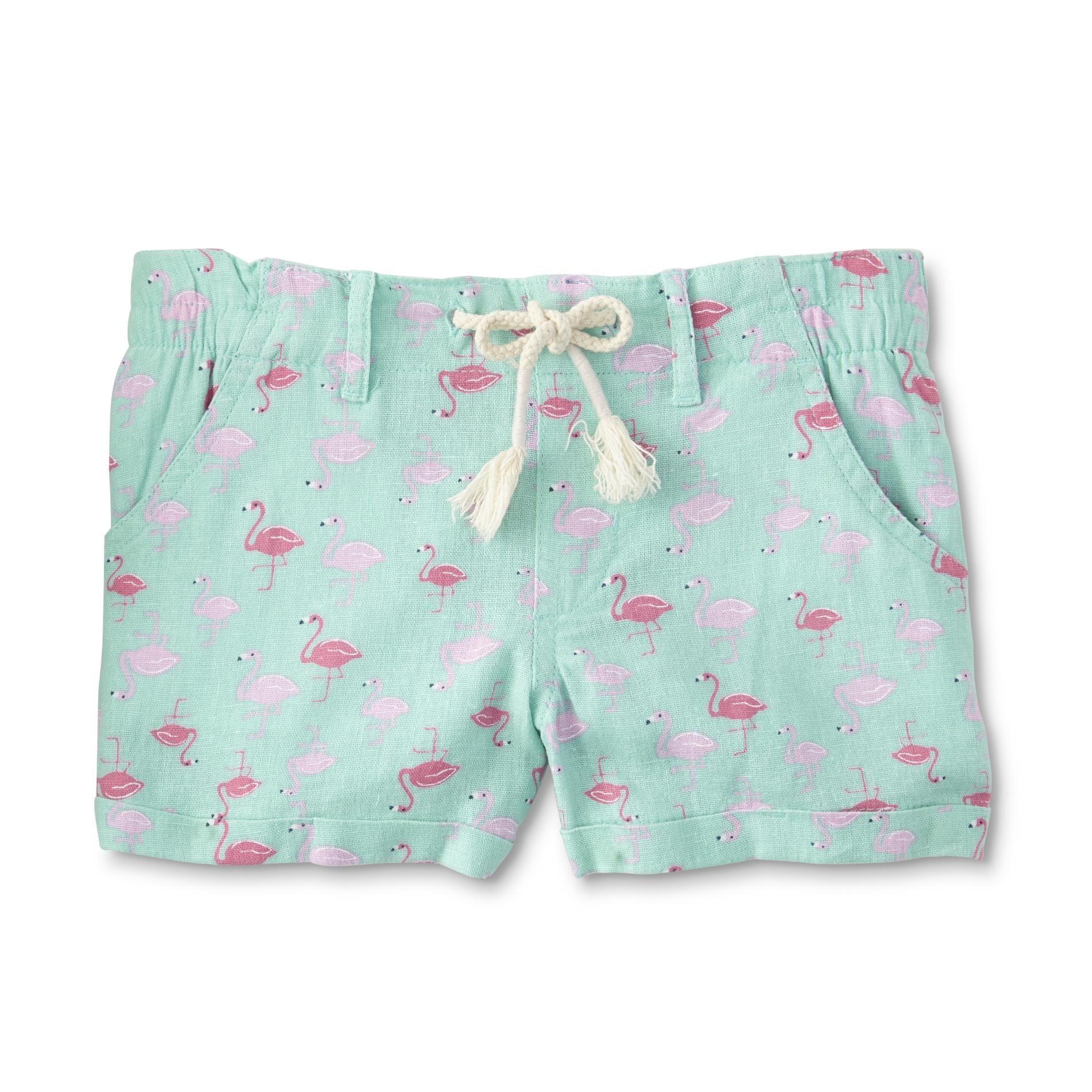 d2c0aea99c Kmart - Basic Editions Girls' Shorts - Flamingos |