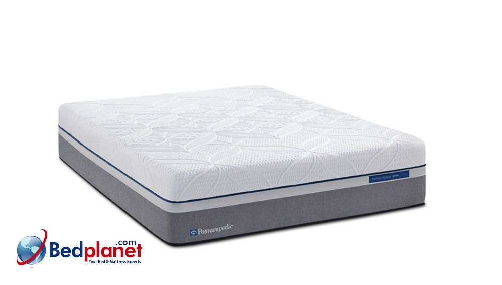 Sealy Posturepedic Hybrid Cobalt Firm Mattress Bedplanet Bed