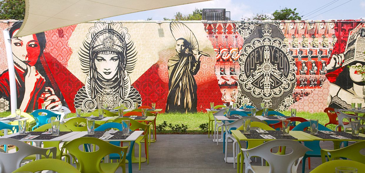Wynwood Kitchen Bar Indian Inspired In 2019 Art