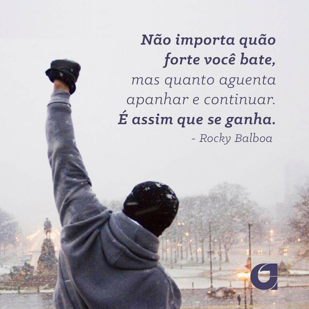 Rocky Balboa Frases Motivacionais Pensamentos Frases E