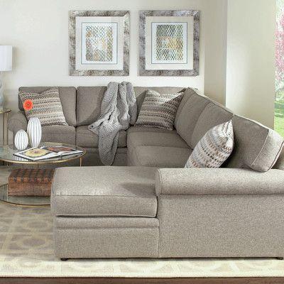 Rowe Furniture Brentwood Sectional U0026 Reviews | Wayfair
