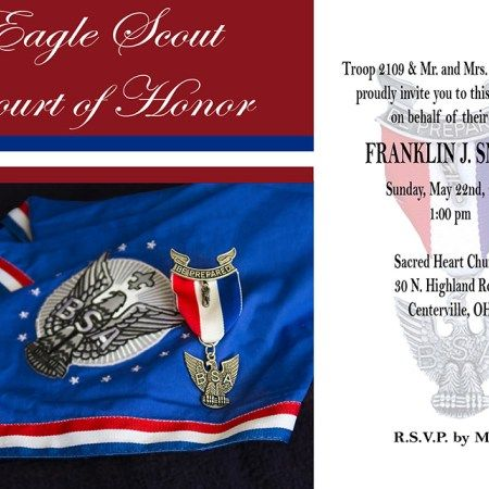Free Eagle Scout Invitation Eagle Scout Ceremony, Boy Scouts, Thank You Cards, Invite