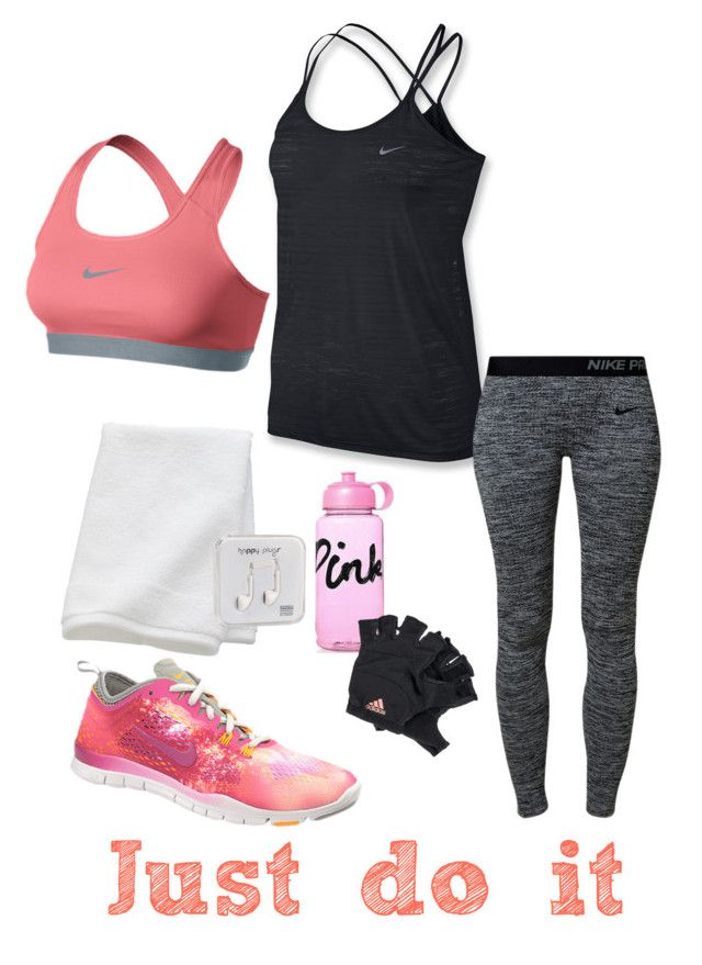 "morning workout~"" by misschocolate14 ❤ liked on polyvore"