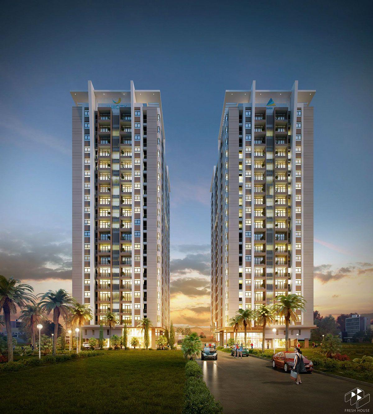 Top Apartment Websites: Luxcity Apartment On Behance
