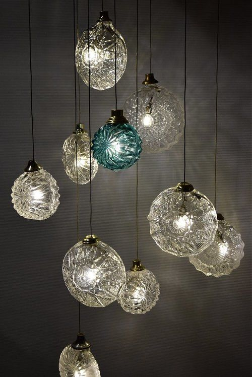 Jellyfish Hand Blown Glass Pendant Lights By The Talented Randy Zieber  Imagine A Cluster Of 100 Pendants , So Gorgeous.   Lighting   Pinterest    Blown Glass ...