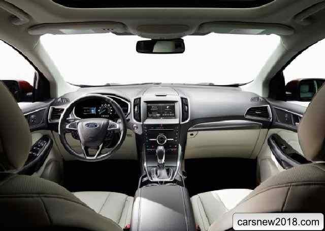 Crossover Ford Edge   Model Year