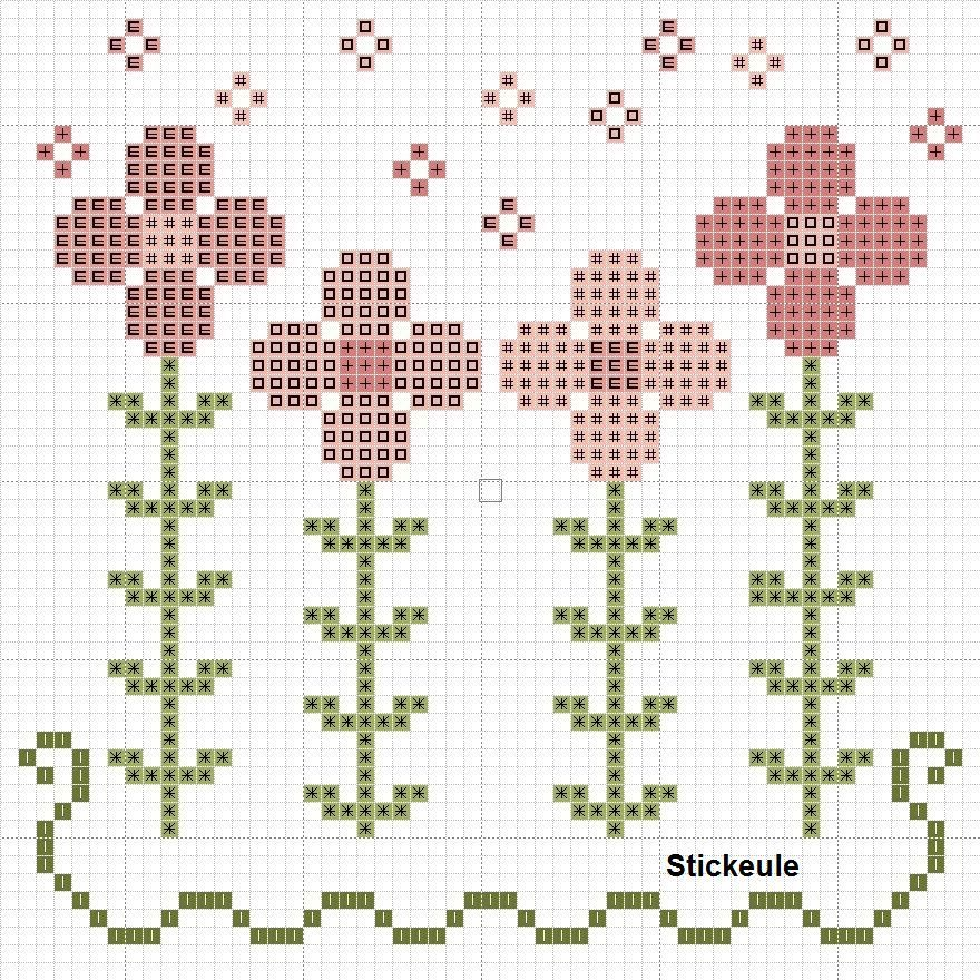 Flores   havlularrrr   Pinterest   Freebies, Frühling und Sticken ...