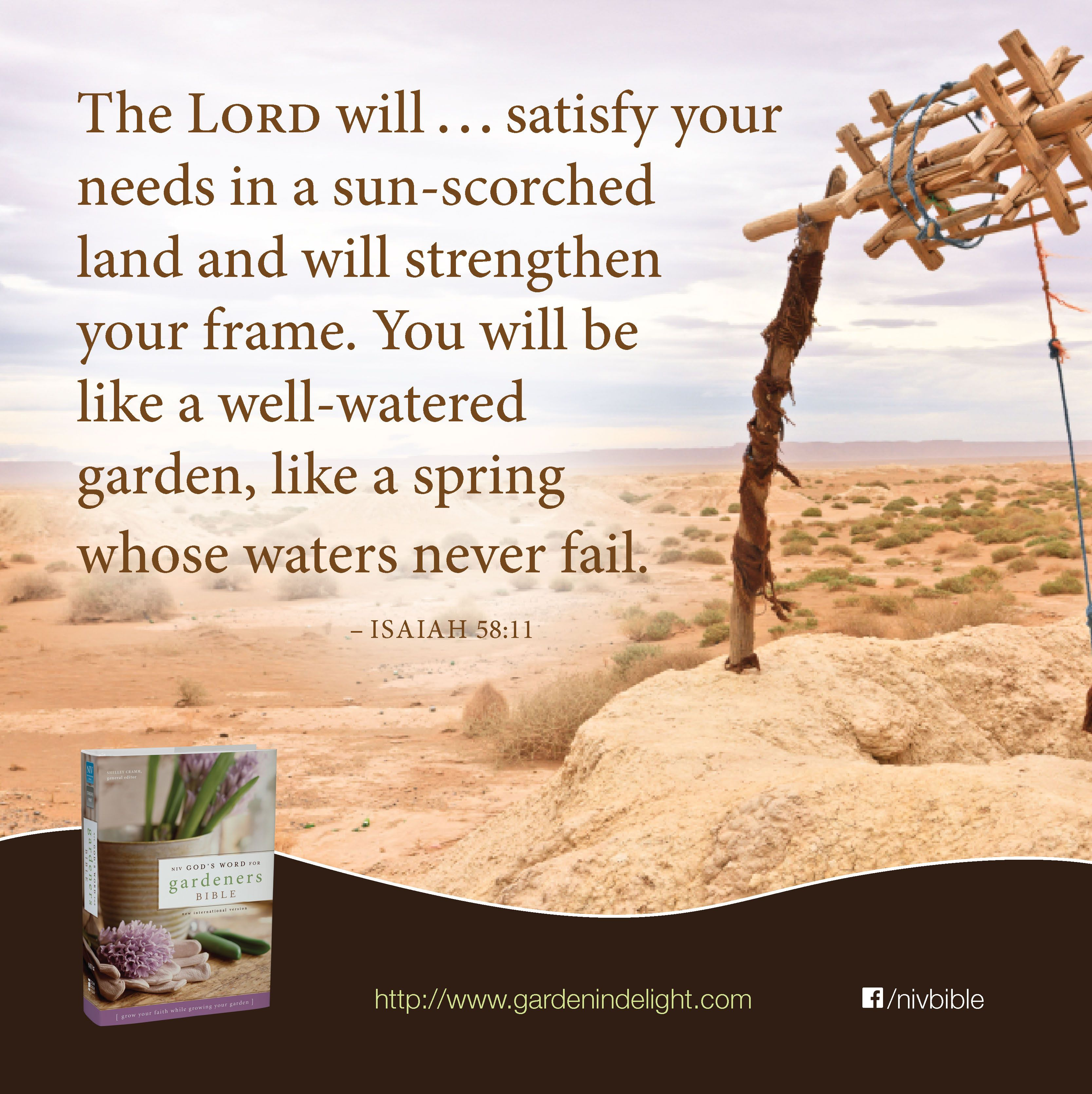 The Lord Will...satisfy Your Needs In A Sun-scorched Land