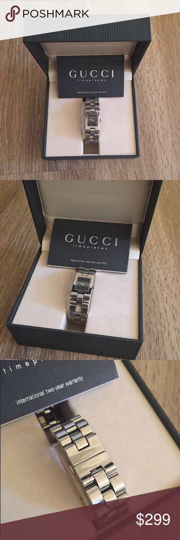 2616597a3e9 Gucci Women Silver watch Vintage style Authentic Gucci Original box are  included Fast shipping Gucci Accessories Watches