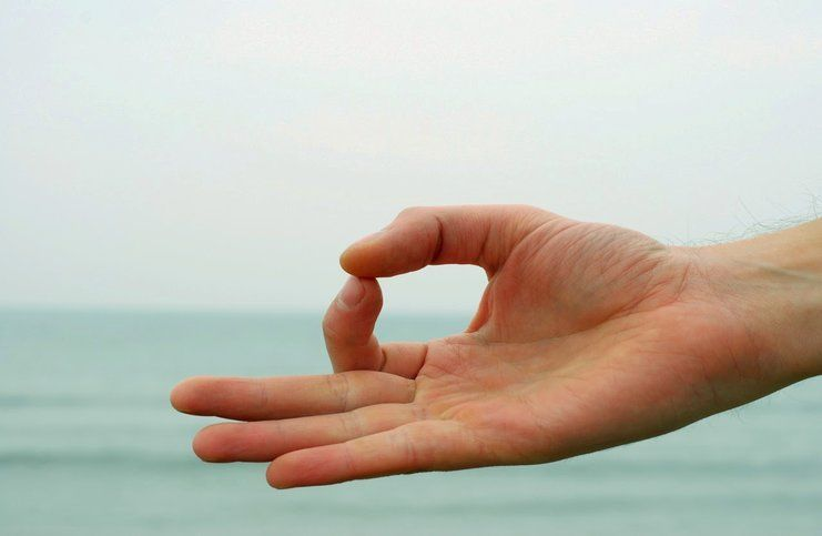 Jnana Mudra or Gyan Mudra helps in increasing brain power and removes the ill caused due to mental tension, and relieves dullness of the mind.