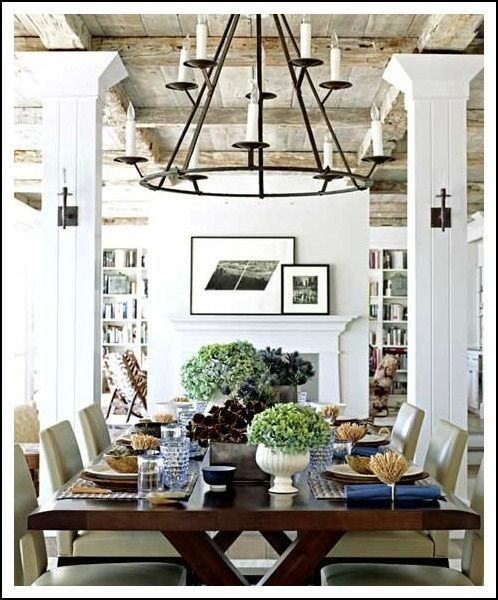 Havens South Designs Loves One Open Barn Like Room With Integral Function Areas Living Library Music Dining Kitchen Pantry